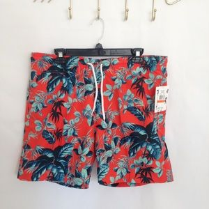 Trunks Surf & Swim San O Shorts Size L NWT
